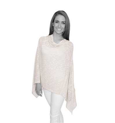Stone Sparkly Winter Poncho