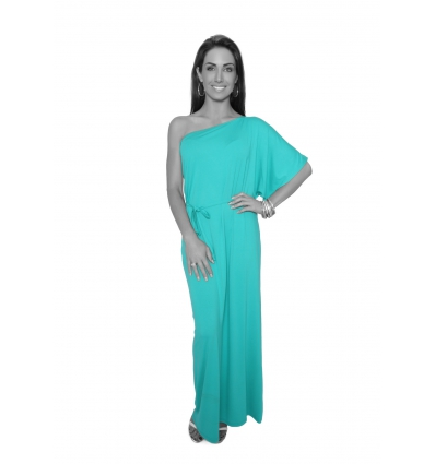 Jade One Shoulder Long Dress